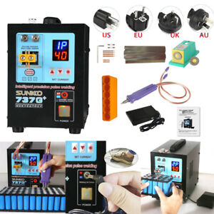 Sunkko 737g Spot Welder Solder Welding Machine For18650 Battery 110v 220v 4 3kw