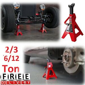Car Jack Stand 2 3 6 12 Ton Capacity Torin Truck Van Sedan Service Equipment