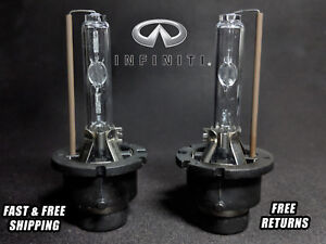 Oe Hid Headlight Bulb For Infiniti Fx35 2003 2012 Low High Beam Stock Fit Qty 2