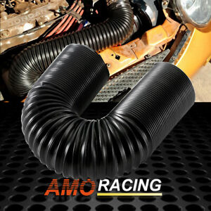 2 5 Adjustable High Flow Flexible Turbo Cold Air Intake System Hose Pipe Tube
