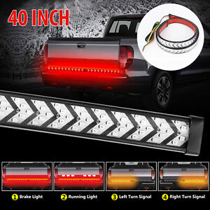 40 Inch Truck Tailgate Strip Led Sequential Brake Signal Tail Reverse Light Bar