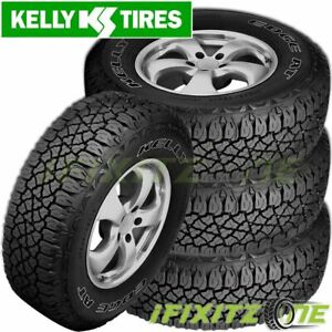 4 Kelly Edge A T All Terrain 255 70r16 111s Owl On Off Road Suv Pick Up Tires