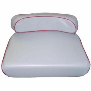 New Grey Seat Cushion Set For Massey Ferguson Tractor To20 To30 To35