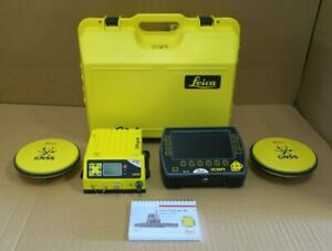Leica Icon Gps 80 Dual Gnss Icg82 3d System Excavate Icp41 Survey Equipment
