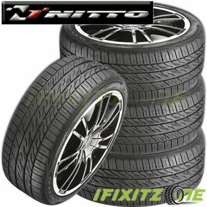4 New Nitto Motivo 215 45zr17 Xl 91w All Season Uhp Ultra High Performance Tires