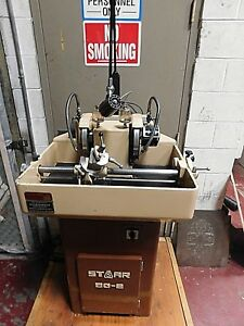 Star Bg2 Precision Double End Carbide Tool Grinding Lapping Machine1985 Mint