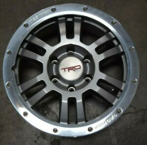 Fj Cruiser 4 Runner Oem Wheel Rim 6 Lug Rock Warrior Ptr45 35010 17x7 5 48359
