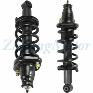 Fit For 2002 2004 Honda Civic Lx Hx Gx Ex Dx Rear 2 Complete Strut Coil Assembly