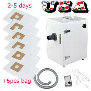 Dental Digital Dust Collector Collect Vacuum Cleaner Equipment Extra Dust Bags