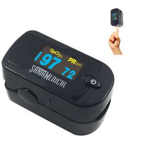 Medical Pulse Oximeter Portable Finger Baby Children Adult Oled Display Monitor