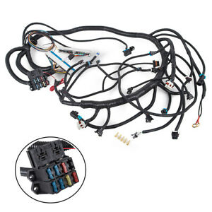 Dbc Independent Wiring Harness Non electric Fit 1997 02 Ls1 lsx Engine W Th350