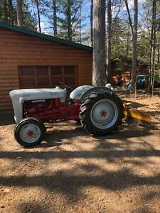 Ford Golden Jubilee Naa 1953 Tractor With Grader Blade For Sale