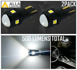 Alla Bright Led 168 License Plate Light Bulb Tag Lamp For Ford Lincoln Mercury