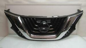Nissan Murano Upper Grille W Camera Hole 62310 5aa1a Oem 2015 2016 2017 2018
