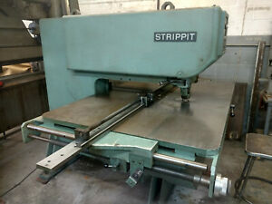 Strippit Super 30 30 Single End Punch With Tool Cabinet And Notching Unit