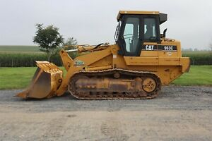 2004 Cat 963c Crawler Loader Cab Heat A c 2 stick Controls