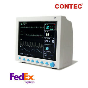 Contec Cms8000 Vital Signs Icu Patient Monitor 6 parameter Cardiac Monitor Fda