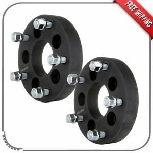 2pc 1 25 5x4 5 To 5x5 5 Wheel Spacers Adapters 1 2 Fits 2007 2011 Ford Edge