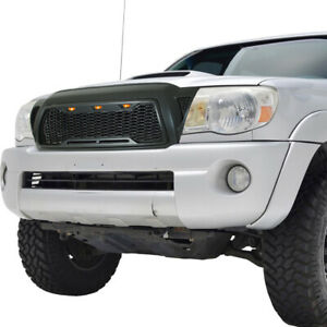 Grill Led Grille Full Upper Front Replacement Fit 05 11 Toyota Tacoma