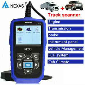Nexlink Nl102 Obd Eobd Can Code Reader Heavy Duty Truck Diagnostic Scanner