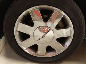 Oem Alloy Wheel 2002 Ford Thunderbird 17x7 1 2 tire Not Included