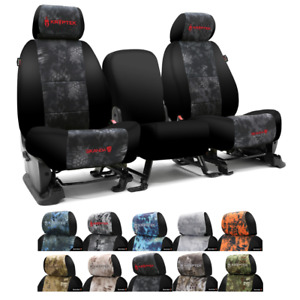 Coverking Kryptek Camo Custom Fit Seat Covers For Jeep Wrangler Tj