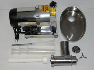 Cabelas 8 Commercial Grade Meat Grinder 0 5 Hp Electric Chopper Hunting Cabin