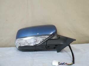 06 07 08 Subaru Forester Power Heat Side Mirror Right Passenger W Turn Oem