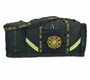 Personalized Premium 3xl Firefighter Rescue Step in Turnout Fire Gear Bag