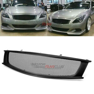 Front Grill Grille Fit For Infiniti G G37 Nissan Skyline 08 13 Coupe 2 Door Only