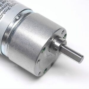 2x Low Mechanical Noise 24v 30 1 180rpm Gearhead Motor Power Electric Products
