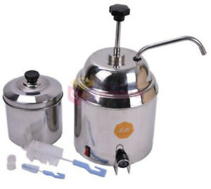 Ce 110v 220v Hot Nacho Fudge Dispenser Warmer Chocolate Cheese Heating Machine