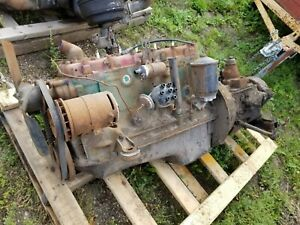 Ford Flathead 6 Cylinder Engine Motor Transmission Shipping Included