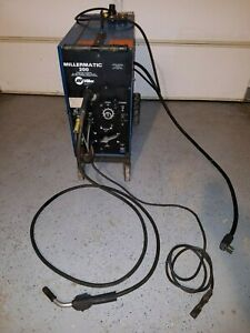 Millermatic 200 Mig Welder 220 Volt 1 phase Miller Wire Weld Machine