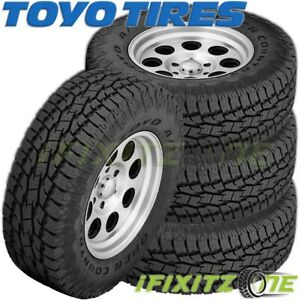 4 Toyo Open Country A t Ii P225 70r16 101t On off Road All Terrain Tires