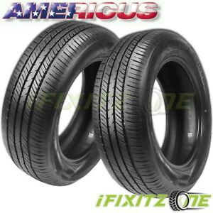 2 Americus Touring Plus 165 80r15 87t All Season High Performance Tires