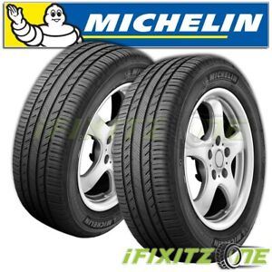 2 Michelin Premier Ltx 235 70r16 106h All Season Touring 60k Mile Suv Cuv Tires