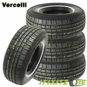 4 Vercelli 787 P225 75r15 102s Wsw All Season Tires