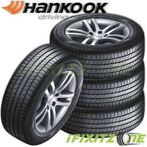 4 Hankook H735 Kinergy St 215 50r17 91h M S All Season Touring Traction Tires
