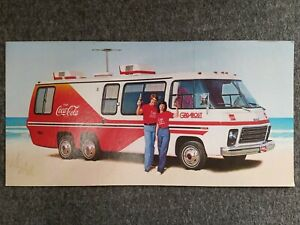 RARE Coca Cola Promotional Sign GadAbout RV 70s 18