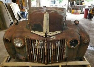 1942 1947 Ford Truck Front Clip Fenders Hood Grill Shipping Included
