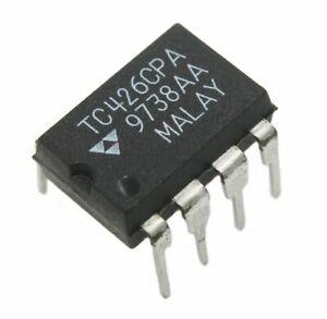 Tc426cpa Dual Mosfet Drivers 1 5a Lot Of 1 5 Or 10