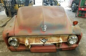 1954 54 Ford F 350 Truck Front Clip Shipping Included See Description