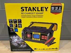 Stanley Bc50bs Re Chargeit 50 Amp Automatic Battery Charger Maintainer New