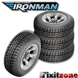 4 Ironman All Country A t Lt265 75r16 10 ply All Terrain Any weather Truck Tires