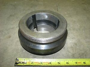 Jacobs Ada6l1 Lathe Chuck Spindle Adapter For Jacob Spindle Nose Collet Chuck