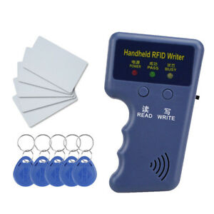 125khz Handheld Rfid Duplicator Key Copier Reader Writer Id Card Cloner Key