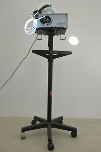 Luxtec Ultralite Surgical Headlight W Lx300 Light Source Stand 19635