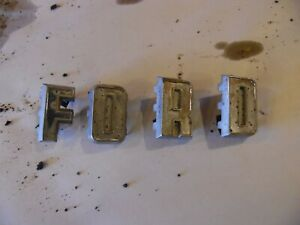 Ford 6000 Farm Tractor Grill Letters 2 Tall By 1 1 4 Wide