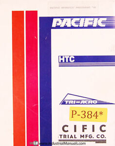 Pacific Press Brakes 100 300 46 Operations Maintenance And Wiring Manual